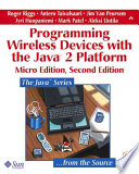 Programming Wireless Devices With The Java 2 Platform