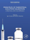 Principles Of Parenteral Solution Validation book