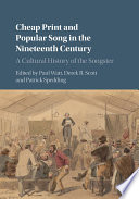 Cheap Print And Popular Song In The Nineteenth Century book