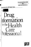 USP DI.: Drug information for the health care professional