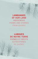 Languages of My Land  Langues de Ma Terre