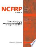 Handbook on Applying Environmental Benchmarking in Freight Transportation