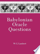Babylonian Oracle Questions Addressed To The Sun God Shamash