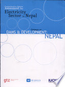 Comprehensive options assessment for electricity sector in Nepal : dialogue on dams and development in Nepal