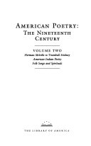American Poetry  Herman Melville to Stickney  American Indian poetry  Folk songs and spirituals