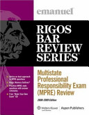 Multistate Professional Responsibility Exam  MPRE  Review  Course 5319