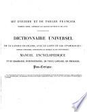 Dictionnaire universel de la langue fran  aise  avec le latin et les   tymologies