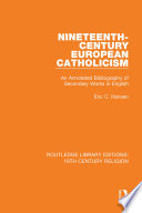 Nineteenth-Century European Catholicism