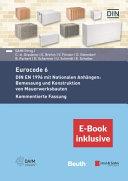 Der Eurocode 6 Fur Deutschland 2e Din En 1996 Kommentierte Fassung Inkl E Book Als Pdf