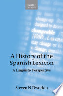 A History of the Spanish Lexicon