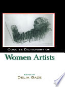 Concise Dictionary of Women Artists Book PDF
