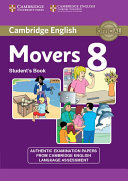 Cambridge English Young Learners 8 Movers Student s Book