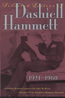 Selected Letters of Dashiell Hammett 1921-1960