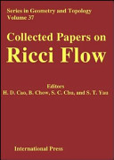 Collected Papers on Ricci Flow