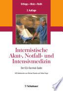 Internistische Akut   Notfall  und Intensivmedizin