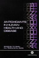 Antioxidants In Human Health And Disease book