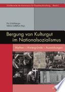 Bergung von Kulturgut im Nationalsozialismus