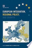 European Integration, Regional Policy, and Growth Pdf/ePub eBook