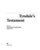 Tyndale's Testament