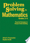 Problem Solving in Mathematics  Grades 3 6