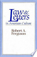 Law and Letters in American Culture