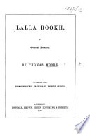Lalla Rookh     Illustrated with engravings from drawings by eminent artists Book PDF