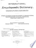 The International Encyclopaedic Dictionary