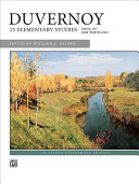 Duvernoy    25 Elementary Studies  Op  176