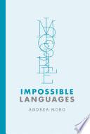 Impossible Languages