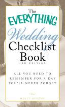The Everything Wedding Checklist Book