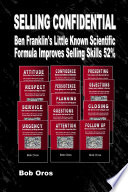 Selling Confidential Ben Franklin S Little Known Scientific Formula Improves Selling Skills 52