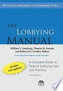 The Lobbying Manual