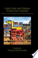 Land Law And Urban Policy In Context book