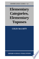 Elementary Categories  Elementary Toposes