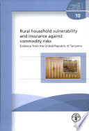 Rural Household Vulnerability and Insurance Against Commodity Risks