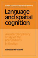 Language and Spatial Cognition