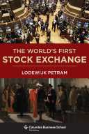 download ebook the world's first stock exchange pdf epub