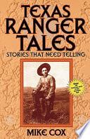 Book Texas Ranger Tales
