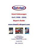 Used Volkswagen Golf (1998-2004) Buyer's Guide