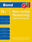 Bond Non Verbal Reasoning Assessment Papers 9 10 Years