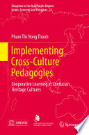 Implementing Cross Culture Pedagogies