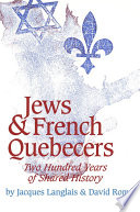 Jews and French Quebecers