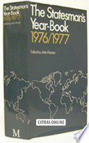 The Statesman S Year Book 1976 77 book