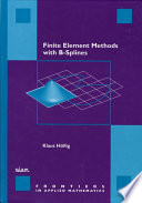 Finite Element Methods with B Splines