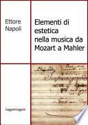 Elementi di estetica nella musica da Mozart a Mahler