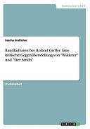 """Randkulturen bei Roland Girtler. Eine kritische Gegenüberstellung von """"Wilderer"""" und """"Der Strich"""""""