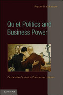 Quiet Politics and Business Power