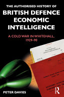 The Authorised History of British Defence Economic Intelligence