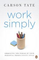 Work Simply Pdf/ePub eBook