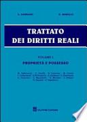 Trattato dei diritti reali. 1. Proprietà e possesso
